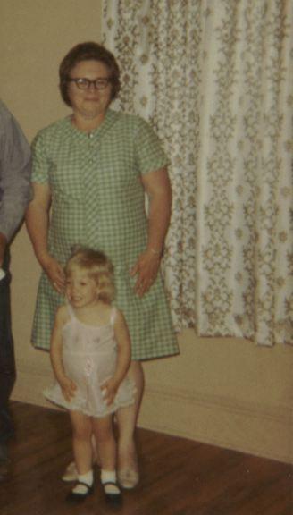 1971 - 06 - 25 Brad, Julie, Don and Dorothy Boisen - June 25, 1971 crop