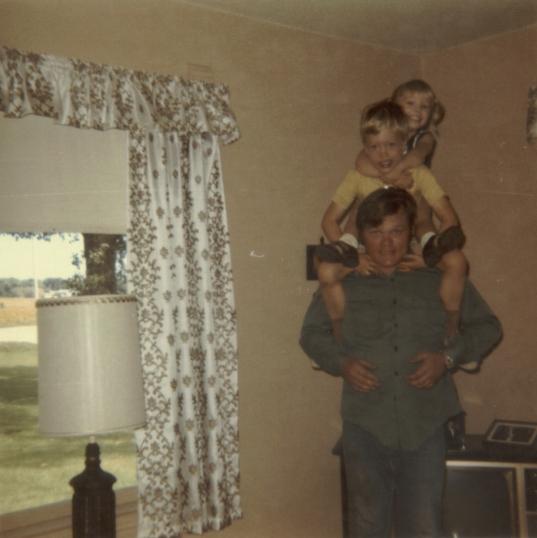 1972 - 07 - 00 Danny, Brad and Julie - Summer 1972